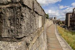 Paredes de la ciudad de York Imagenes de archivo