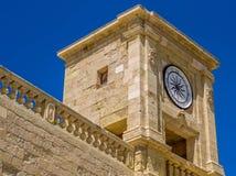 Paredes de la ciudadela de Victoriam Gozo Imagenes de archivo