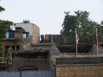 paredes de la defensa de Chipre fotografía de archivo