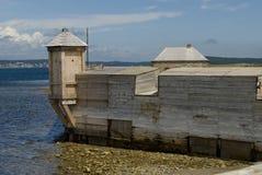 Paredes de la fortaleza Foto de archivo libre de regalías