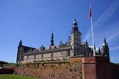 Paredes de la fortaleza de Kronborg foto de archivo