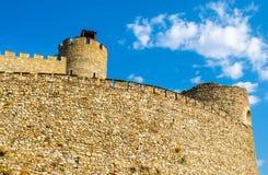 Paredes de la fortaleza de Skopje Foto de archivo