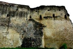 Paredes de la iglesia fortificada Codlea Imágenes de archivo libres de regalías