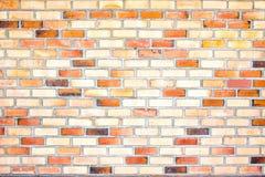 Paredes de ladrillo Foto de archivo libre de regalías