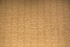 Paredes de ladrillo anaranjadas para el papel pintado superficie, textura Foto de archivo