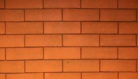 Paredes de ladrillo rojas adornadas con los edificios hermosos fotos de archivo