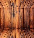 Paredes de madeira. Fotos de Stock Royalty Free