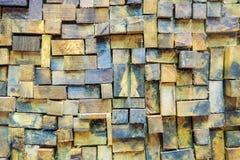 Paredes de madeira Foto de Stock
