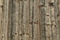 Paredes de madera Foto de archivo
