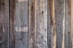Paredes de madera para el fondo Fotografía de archivo libre de regalías