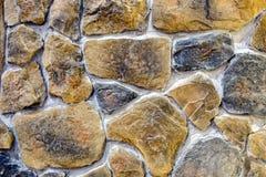 Paredes de pedra Imagens de Stock