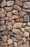 Paredes de piedra Foto de archivo libre de regalías