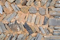 Paredes de tijolo Imagens de Stock Royalty Free