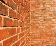 Paredes de tijolo Fotografia de Stock