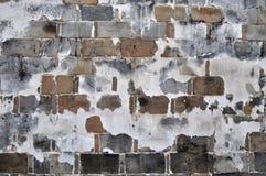 Paredes de tijolo velhas Fotografia de Stock Royalty Free