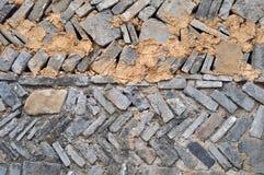 Paredes de tijolo velhas Foto de Stock Royalty Free
