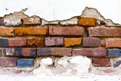 Paredes de tijolo velhas. Fotografia de Stock