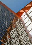 Paredes de un edificio de oficinas. Imagen de archivo libre de regalías