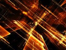 Paredes de vidro - imagem digitalmente gerada do sumário Imagem de Stock Royalty Free