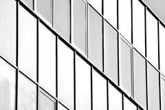Paredes de vidro de um prédio de escritórios - fundo do negócio Rebecca 36 imagem de stock
