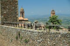 Paredes defensivas, Italia Imagen de archivo libre de regalías