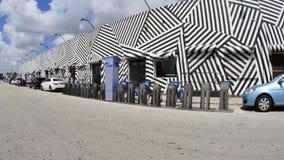 Paredes del arte en Wynwood Miami FL 4k metrajes