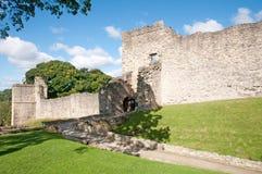 Paredes del castillo Fotos de archivo libres de regalías
