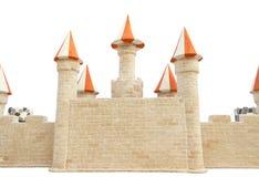 Paredes del castillo. Fotos de archivo libres de regalías