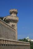 Paredes del castillo Imagen de archivo