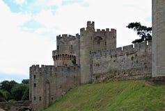 Paredes del castillo Fotografía de archivo