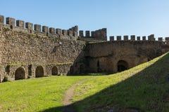 Paredes del castillo de Belver fotografía de archivo libre de regalías