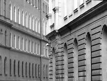 Paredes del edificio Imagenes de archivo