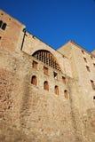 Paredes de la fortaleza Fotografía de archivo