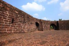 Paredes del fuerte de Bekal fotografía de archivo