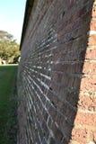 Paredes del fuerte Moultrie imagen de archivo