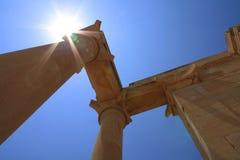 Paredes del griego clásico Fotografía de archivo libre de regalías