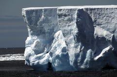 Paredes del iceberg Imagen de archivo libre de regalías