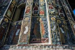 Paredes del monasterio Imágenes de archivo libres de regalías