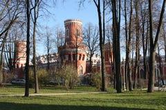 Paredes del palacio de Tsar Fotografía de archivo libre de regalías