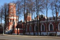 Paredes del palacio de Tsar Foto de archivo