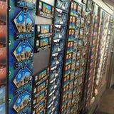 Paredes del refrigerador Imagen de archivo libre de regalías