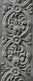 Paredes del templo Foto de archivo libre de regalías