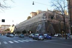 Paredes del Vaticano Foto de archivo libre de regalías