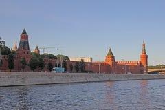 Paredes do Kremlin Imagens de Stock