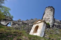 Paredes e capela Fotografia de Stock Royalty Free