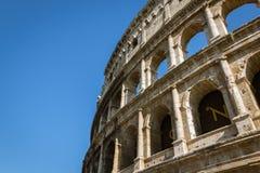 Paredes exteriores de Colosseum Fotografia de Stock Royalty Free