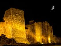 Paredes exteriores de la fortaleza de Smederevo Imágenes de archivo libres de regalías