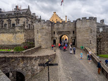 Paredes exteriores de Stirling Castle Foto de Stock Royalty Free