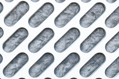 Paredes feitas do alumínio. Fotos de Stock