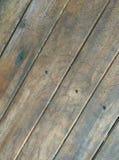 Paredes hechas de la madera vieja Fotos de archivo libres de regalías